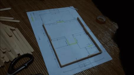 cara membuat kerajinan tangan rumah dari stik es krim, cara membuat kerajinan tangan dari stik es krim berbentuk rumah magetan