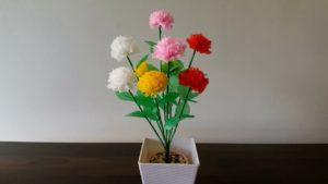 Kerajinan Dari Plastik Kresek Membuat Bunga