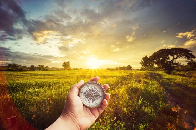 Cara Menggunakan Kompas Bidik Yang Benar